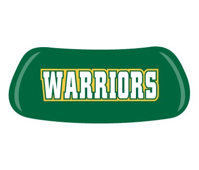 Warriors [Green with White Text]