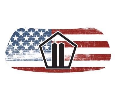 Pentagon / Towers Flag Original EyeBlack