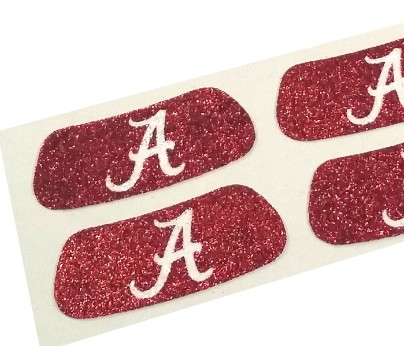 Alabama Glitter Eye Black