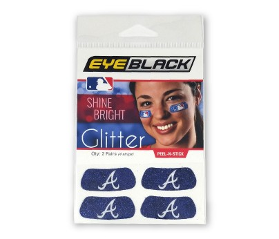 Atlanta Braves Glitter EyeBlack