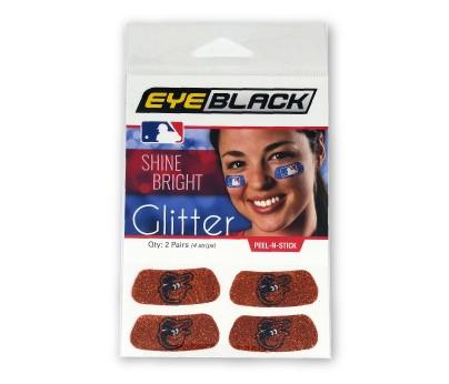 Baltimore Orioles Glitter EyeBlack
