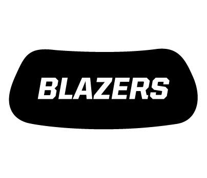 Blazers Eye Black
