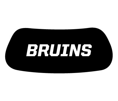 Bruins Eye Black