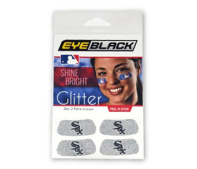 Chicago White Sox Glitter EyeBlack