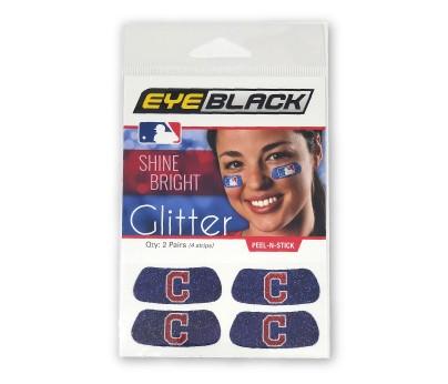 Cleveland Indians Glitter EyeBlack