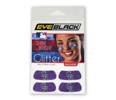 Colorado Rockies Glitter EyeBlack