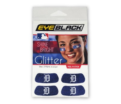 Detroit Tigers Glitter EyeBlack