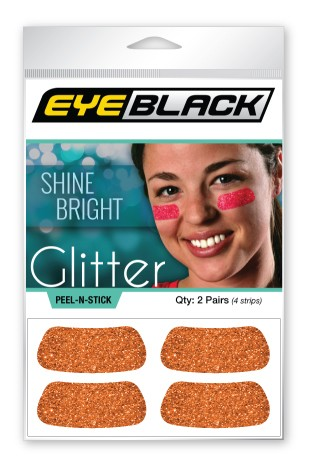 Orange Glitter EyeBlack