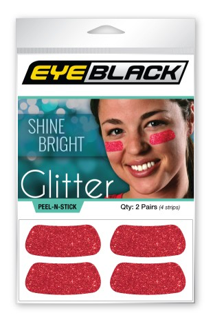 Red Glitter EyeBlack