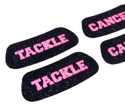 Tackle Cancer Glitter Eye Black