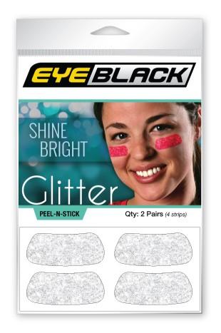 White Glitter EyeBlack