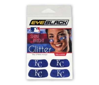 Kansas City Royals Glitter EyeBlack