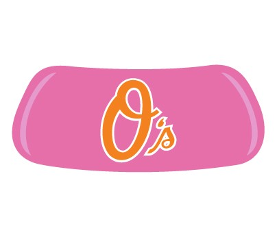 Baltimore Orioles Pink Original EyeBlack
