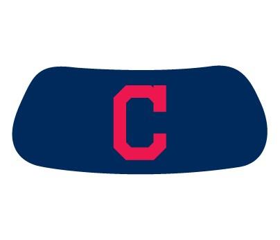 Cleveland Indians C on Blue Original EyeBlack