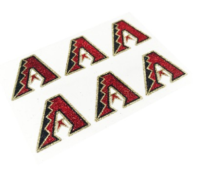 Arizona Diamondbacks Glitter Face Decals