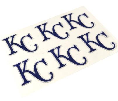 Kansas City Royals Glitter Face Decals