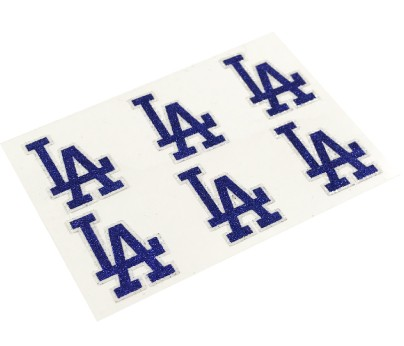 Los Angeles Dodgers Glitter Face Decals