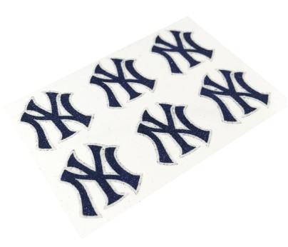 New York Yankees Glitter Face Decals