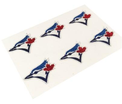 Toronto Blue Jays Glitter Face Decals