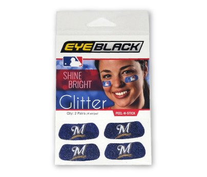 Milwaukee Brewers Glitter EyeBlack