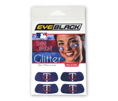 Minnesota Twins Glitter EyeBlack