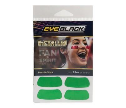 Green Metallic Eye Black