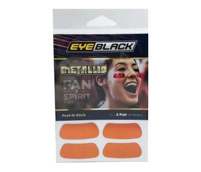 Orange Metallic Eye Black