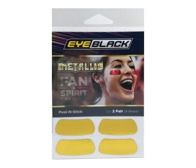 Gold Metallic Eye Black