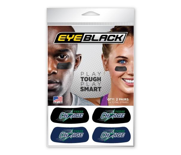 Texas Charge Eye Black