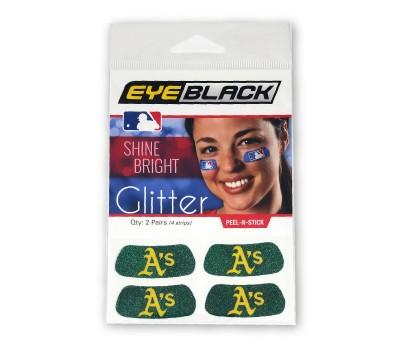 Oakland Athletics Glitter EyeBlack