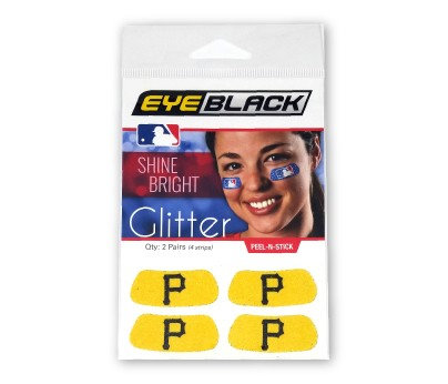 Pittsburgh Pirates Glitter EyeBlack