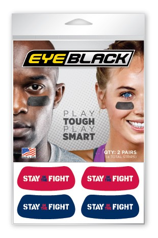 Stay in the Fight Eye Black