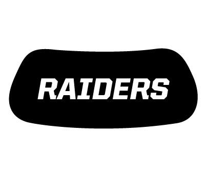 Raiders Eye Black