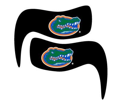Florida Gator Head Smear EB