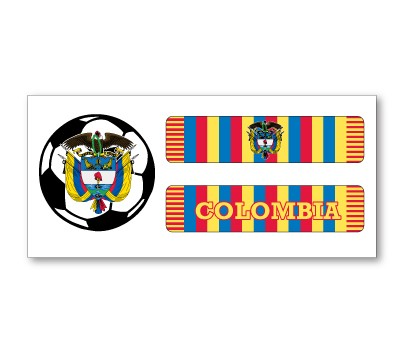Colombia Soccer Scarf