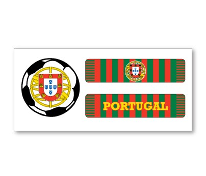 Portugal Soccer Scarf