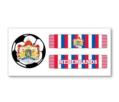 Netherlands Soccer Scarf