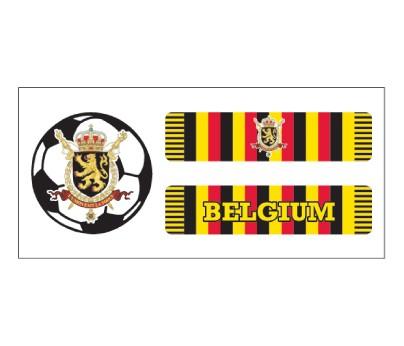 Belgium Soccer Scarf