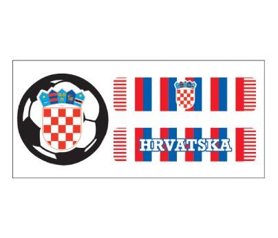 Croatia Soccer Scarf