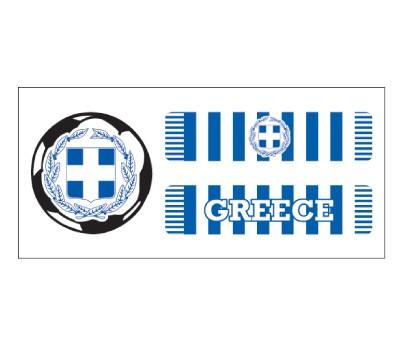 Greece Soccer Scarf
