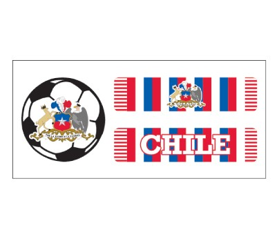 Chile Soccer Scarf