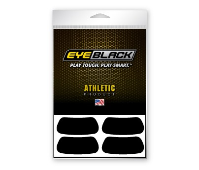 18-Pair Black Athletic EyeBlack