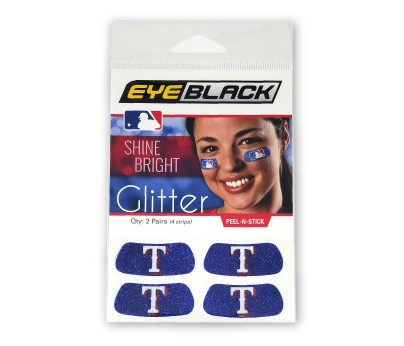 Texas Rangers Glitter EyeBlack