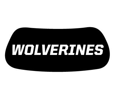 Wolverines Eye Black