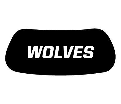 Wolves Eye Black