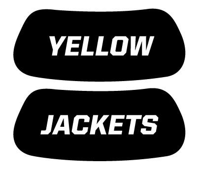Yellow Jackets Eye Black