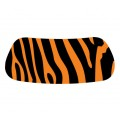 Orange & Black Gridiron EyeBlack