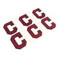 Cleveland Indians Glitter Face Decals