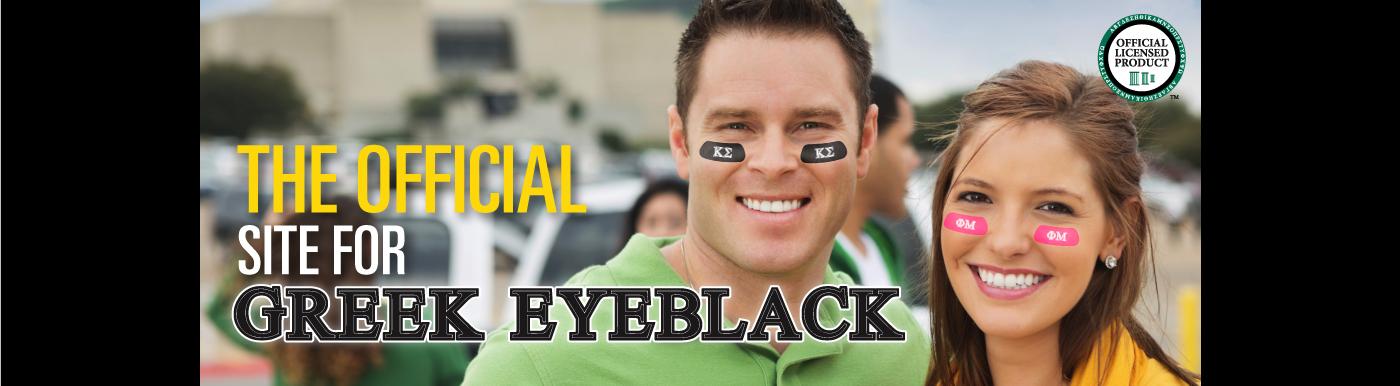 Greek Eye Black