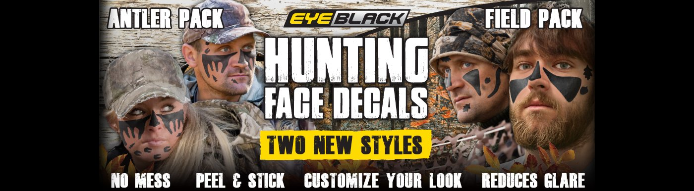 Hunting Face Decals 2